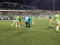 Raiders Warm-Up